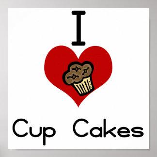 I heart-love cupcakes print
