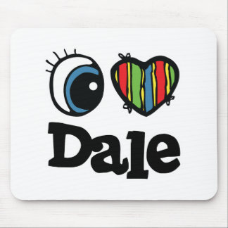 I Heart (Love) Dale Mouse Pad
