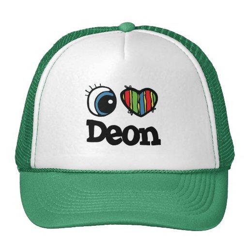 I Heart (Love) Deon Hat