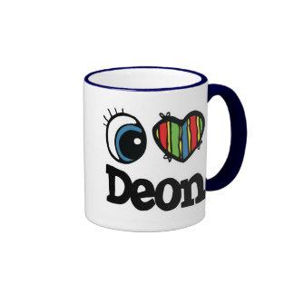 I Heart (Love) Deon Ringer Mug
