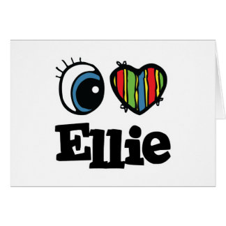 I  Heart (Love) Ellie Card