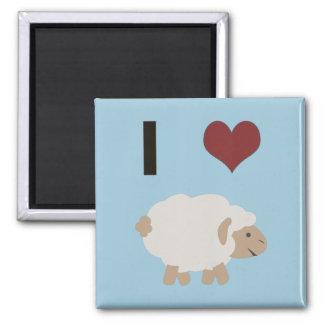 I heart (love) Ewe (you) Refrigerator Magnet