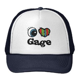 I Heart (Love) Gage Mesh Hats