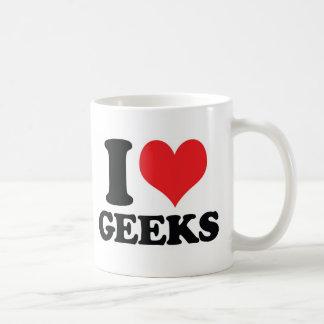 I Heart / love geeks Coffee Mug