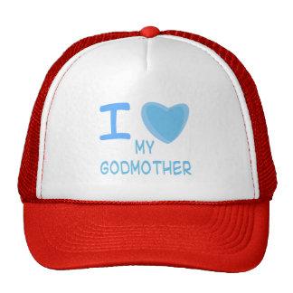 I Heart (Love) godmother Cap
