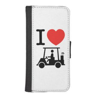 I Heart (Love) Golf Cart