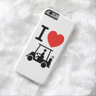 I Heart (Love) Golf Cart Barely There iPhone 6 Case