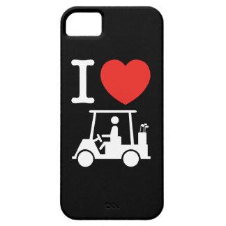 I Heart (Love) Golf Cart iPhone 5 Covers