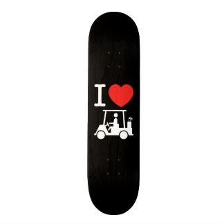 I Heart (Love) Golf Cart Skate Deck