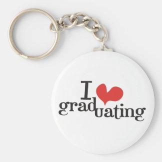 I heart (love) Graduating Keychains