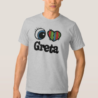 I Heart (Love) Greta T-shirt