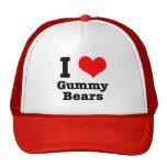 I HEART (LOVE) gummy bears Cap
