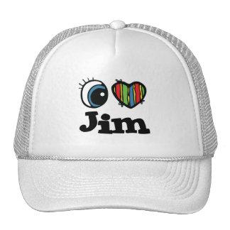 I Heart (Love) Jim Mesh Hat