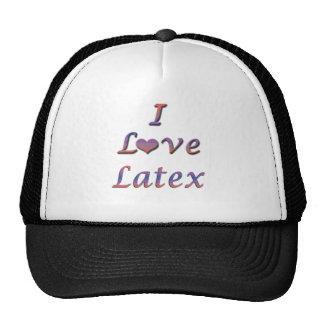 I Heart (Love) Latex Hat