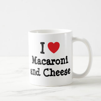 I heart (love) Macaroni and Cheese Coffee Mug