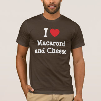 I heart (love) Macaroni and Cheese T-Shirt