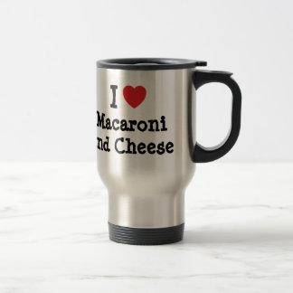 I heart (love) Macaroni and Cheese Travel Mug