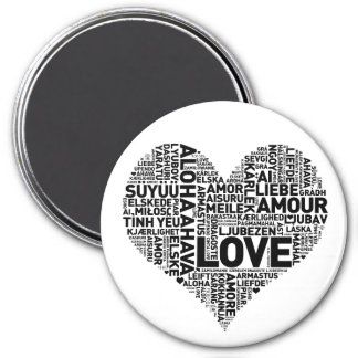I HEART LOVE FRIDGE MAGNETS