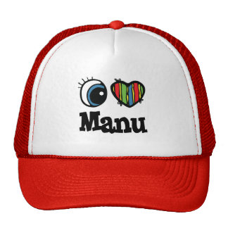 I Heart (Love) Manu Cap