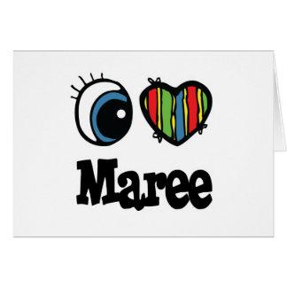 I Heart Love Maree Card