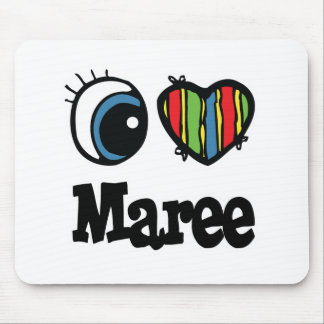 I Heart Love Maree Mouse Mat