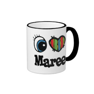 I Heart (Love) Maree Ringer Mug