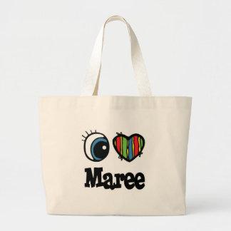 I Heart (Love) Maree Jumbo Tote Bag