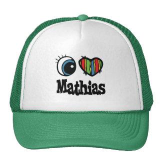 I Heart (Love) Mathias Trucker Hats