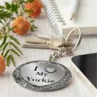 I Heart (Love) My Yorkie Keychain