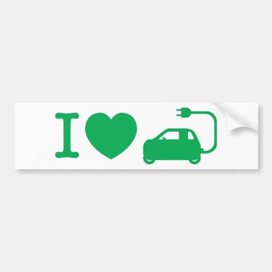 I Heart {Love} NEVs Bumper Sticker
