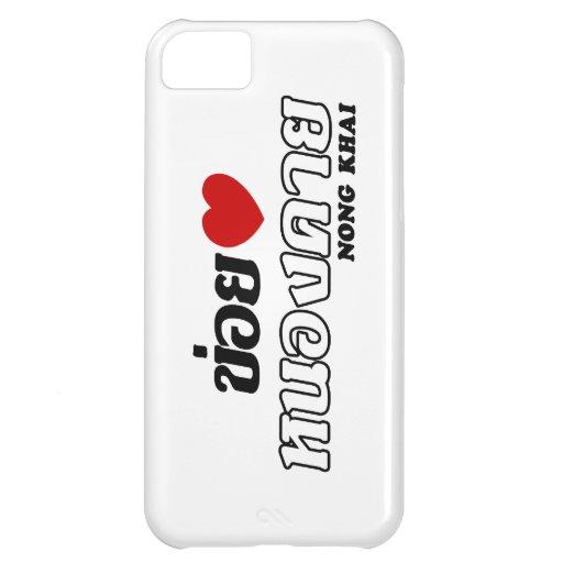 I Heart (Love) Nong Khai, Isan, Thailand iPhone 5C Cases