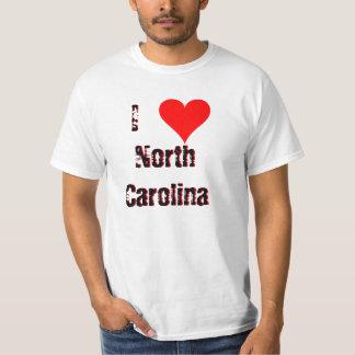 I (Heart) Love North Carolina T-shirt