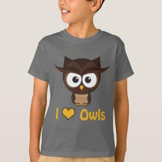I heart (love) owls T-Shirt