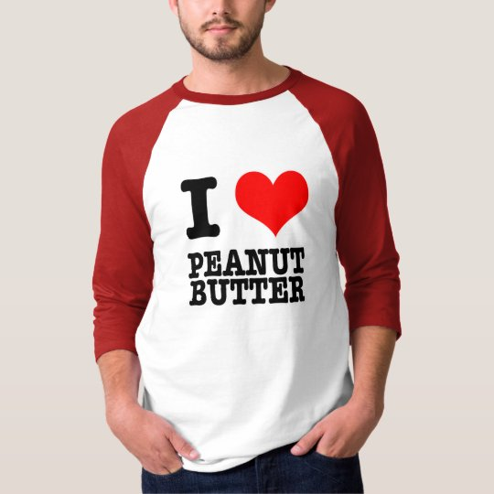 I HEART (LOVE) PEANUT BUTTER T-Shirt