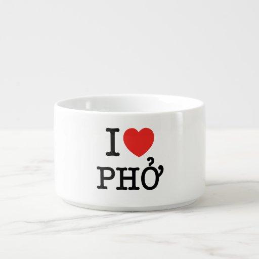 I Heart (Love) Pho Chili Bowl