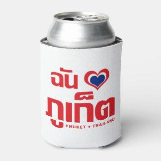 I Heart (Love) Phuket ❤ Thailand Can Cooler