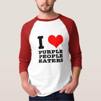 I HEART (LOVE) PURPLE PEOPLE EATER TEES
