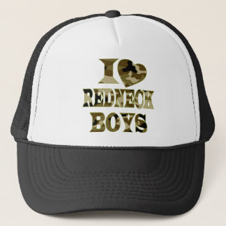I (Heart) Love Redneck Boys Trucker Hat