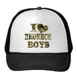 I (Heart) Love Redneck Boys Trucker Hat