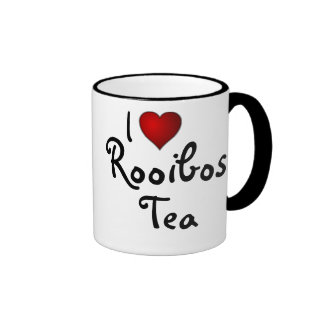 I (Heart) Love Rooibos Tea Ringer Mug