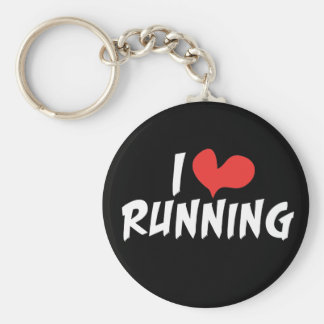I heart (love) Running Key Ring