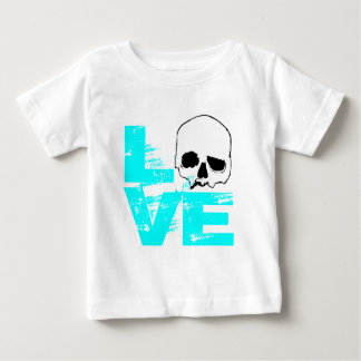 I heart love skull baby T-Shirt