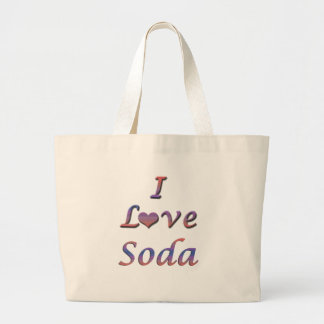 I Heart (Love) Soda Bag