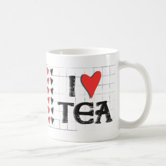 i heart (love) Tea Coffee Mug