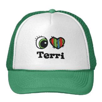 I Heart (Love) Terri Mesh Hat