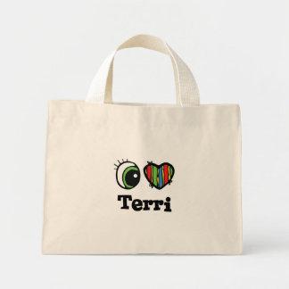 I Heart (Love) Terri Mini Tote Bag