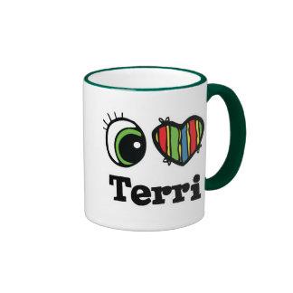 I Heart (Love) Terri Mug