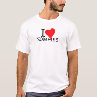 I HEART LOVE ZOMBIES T-Shirt