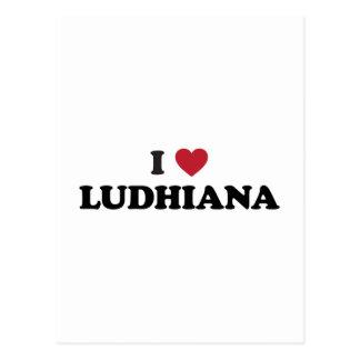 I Heart Ludhiana India Postcard