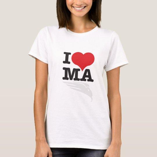 I Heart MA (I Love Moto-Angel T-Shirt